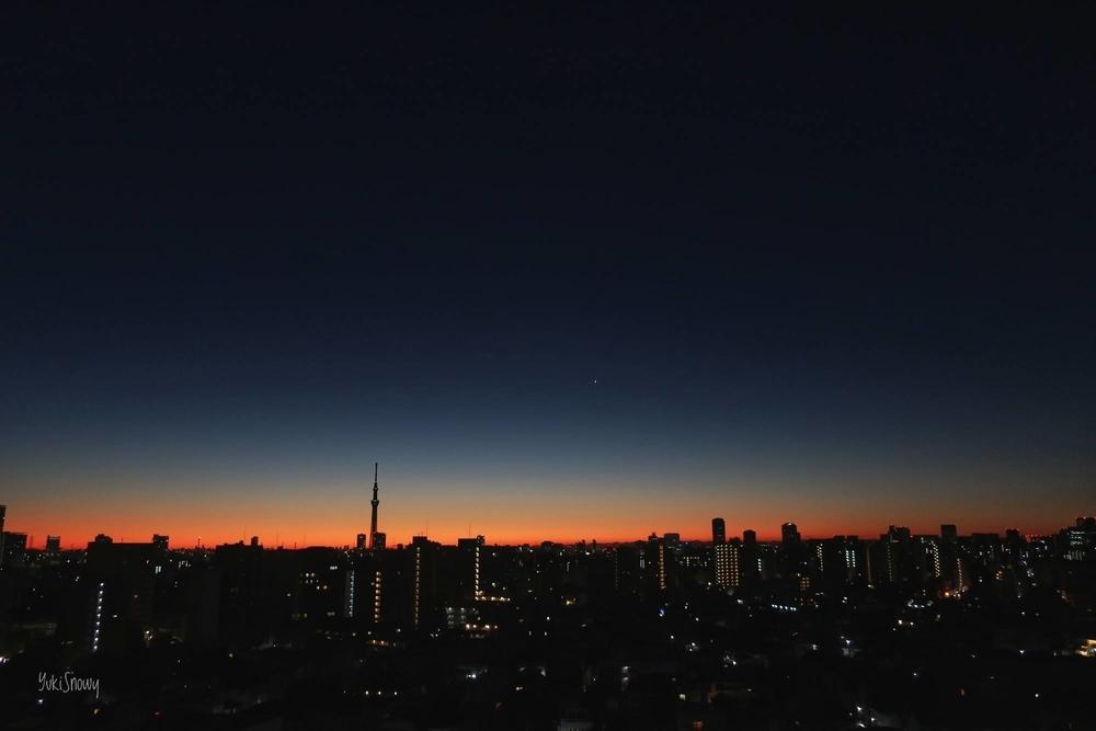 明けの明星(2020-12-21 06:03)