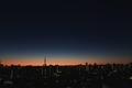 [星][空][雲][東京][朝]明けの明星(2020-12-21 06:03)