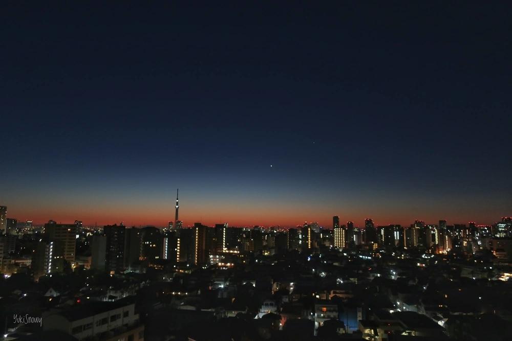 明けの明星(2020-12-23 05:56)