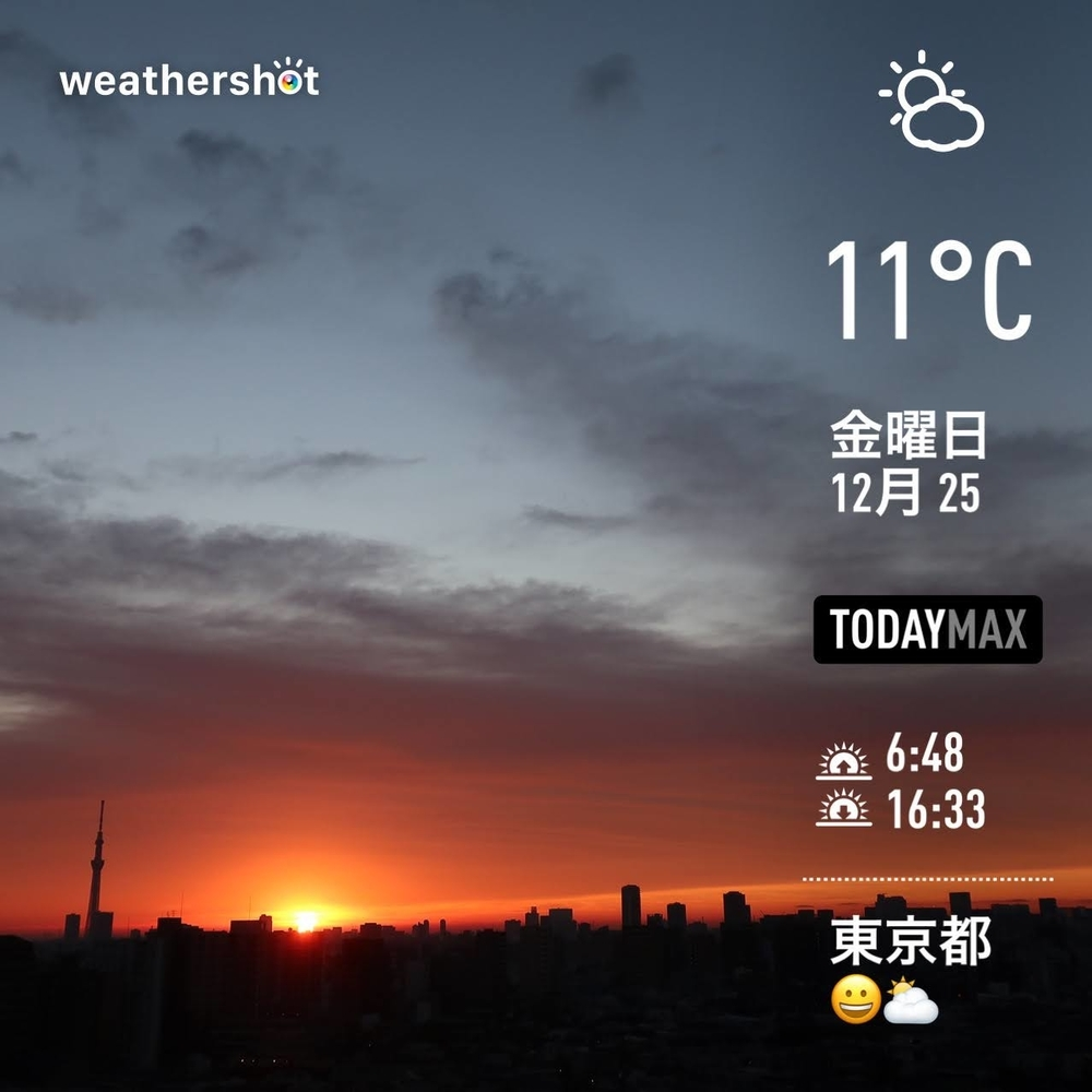 WeatherShot(2020-12-25)