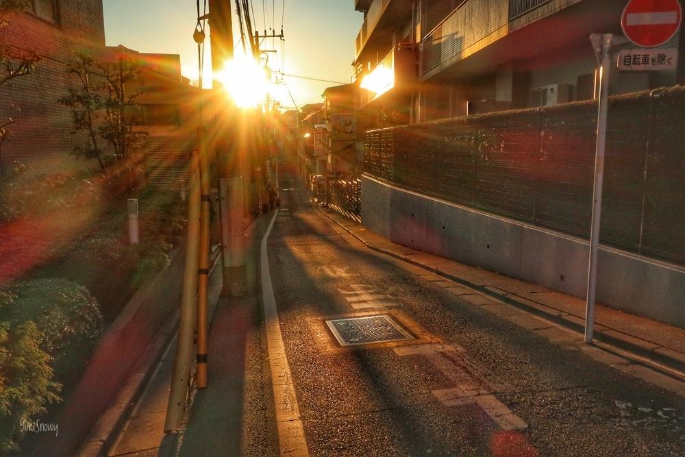 文京区吉祥寺前交差点から(2020-12-22 15:50)