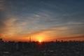 [日の出][空][雲][東京][朝](2020-12-29 06:53)