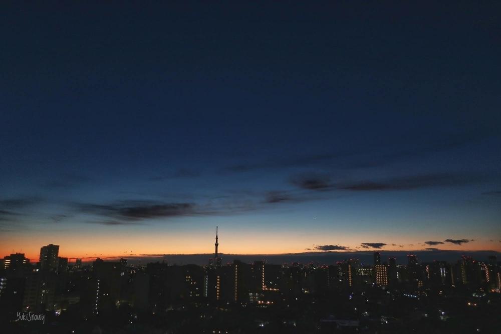 明けの明星(2021-01-08 06:14)
