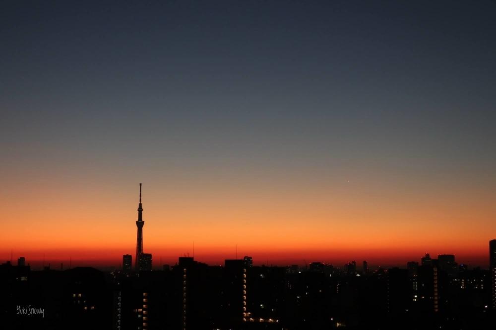 明けの明星(2021-01-14 06:17)