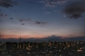 [月][空][雲][東京][朝](2021-02-08 06:04)