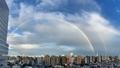 [虹][大気光学現象][空][雲][東京](2021-02-15 16:33)