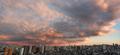 [夕焼け][空][雲][東京](2021-02-17 17:16)
