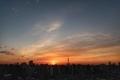 [日の出][空][雲][東京][朝](2021-02-23 06:21)