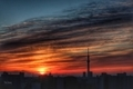 [日の出][空][雲][東京][朝](2021-02-24 06:21)