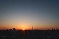[日の出][空][雲][東京][朝](2021-02-28 06:17)