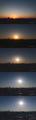 [日の出][空][雲][東京][朝](2021-02-28 06:17~07:33)