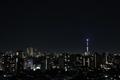 [月][東京][夜景]月齢17.6 居待ち月(2021-03-01 19:55)