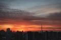 [日の出][空][雲][東京][朝](2021-03-05 06:08)