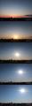 [日の出][空][雲][東京][朝](2021-03-15 05:53~08:14)