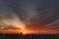 [日の出][空][雲][東京][朝](2021-03-16 05:57)