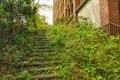 [風景][東京][階段]放送大学文京学習センター(2021-04-03)