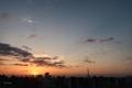 [日の出][空][雲][東京][朝](2021-04-06 05:30)