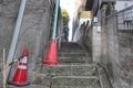 [風景][東京][階段]千駄木ふれあいの杜横の階段(2021-03-23)