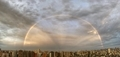 [虹][大気光学現象][空][雲][東京](2021-05-17 18:29)