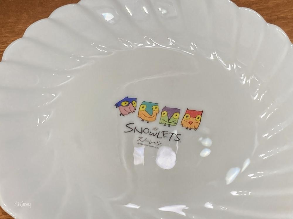 1997年春のパン祭り「白いスノーレッツ皿」