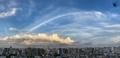 [空][雲][東京](2021-07-15 18:31)