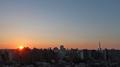 [空][雲][東京][朝][日の出](2021-07-25 04:49)