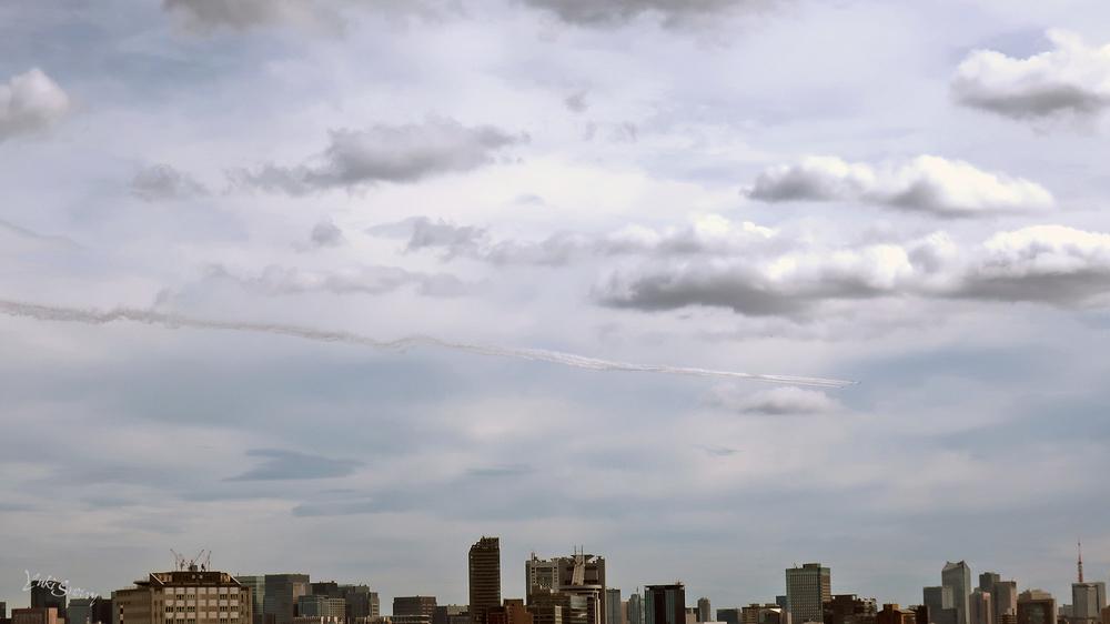 ブルーインパルス(2021-08-22 14:06)