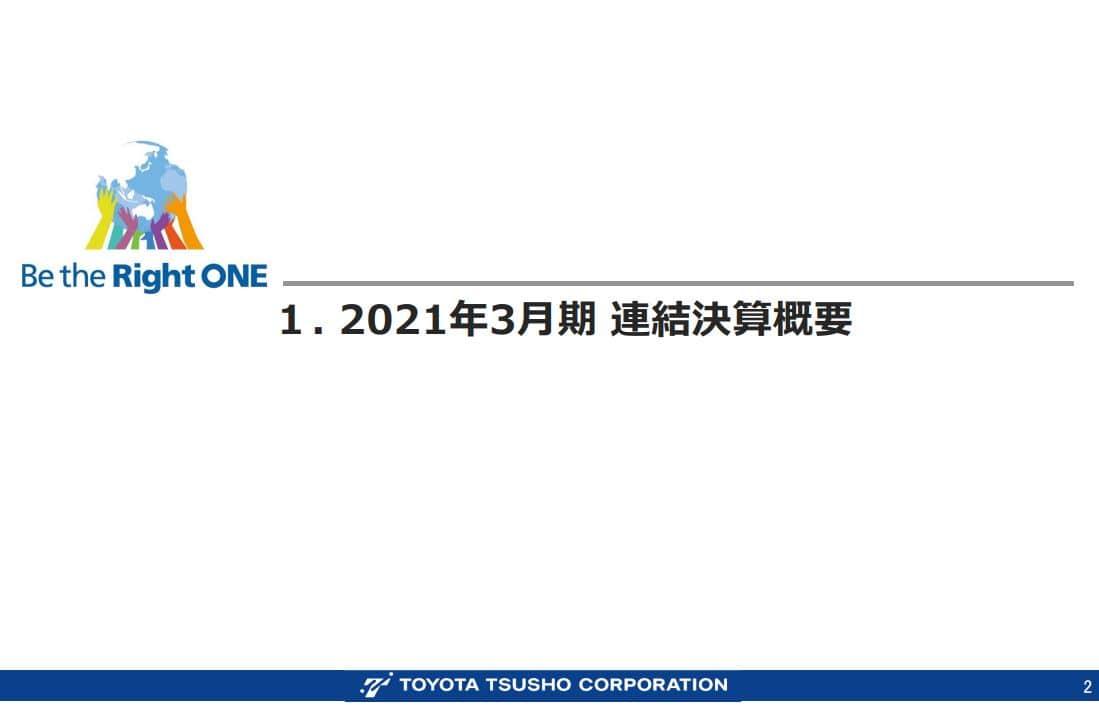 豊田通商決算資料202103-1