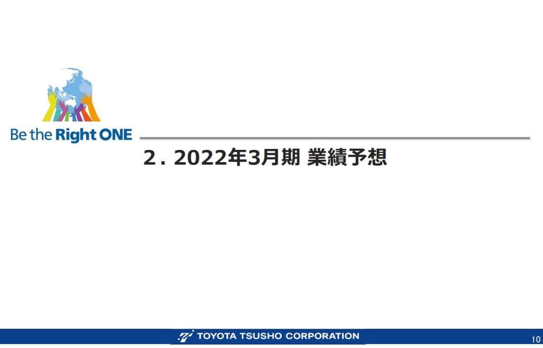 豊田通商決算資料202203-1
