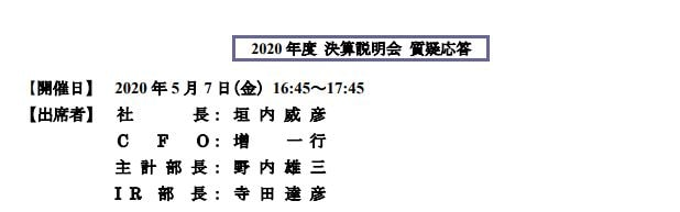 三菱商事決算説明会質疑応答2020q4-1