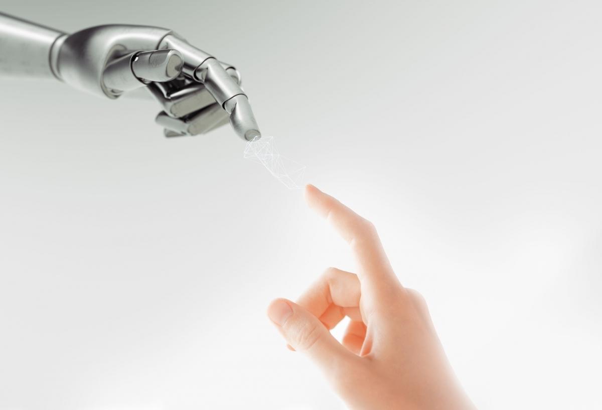 アンドロイドと人間の指:Soseki21ブログ