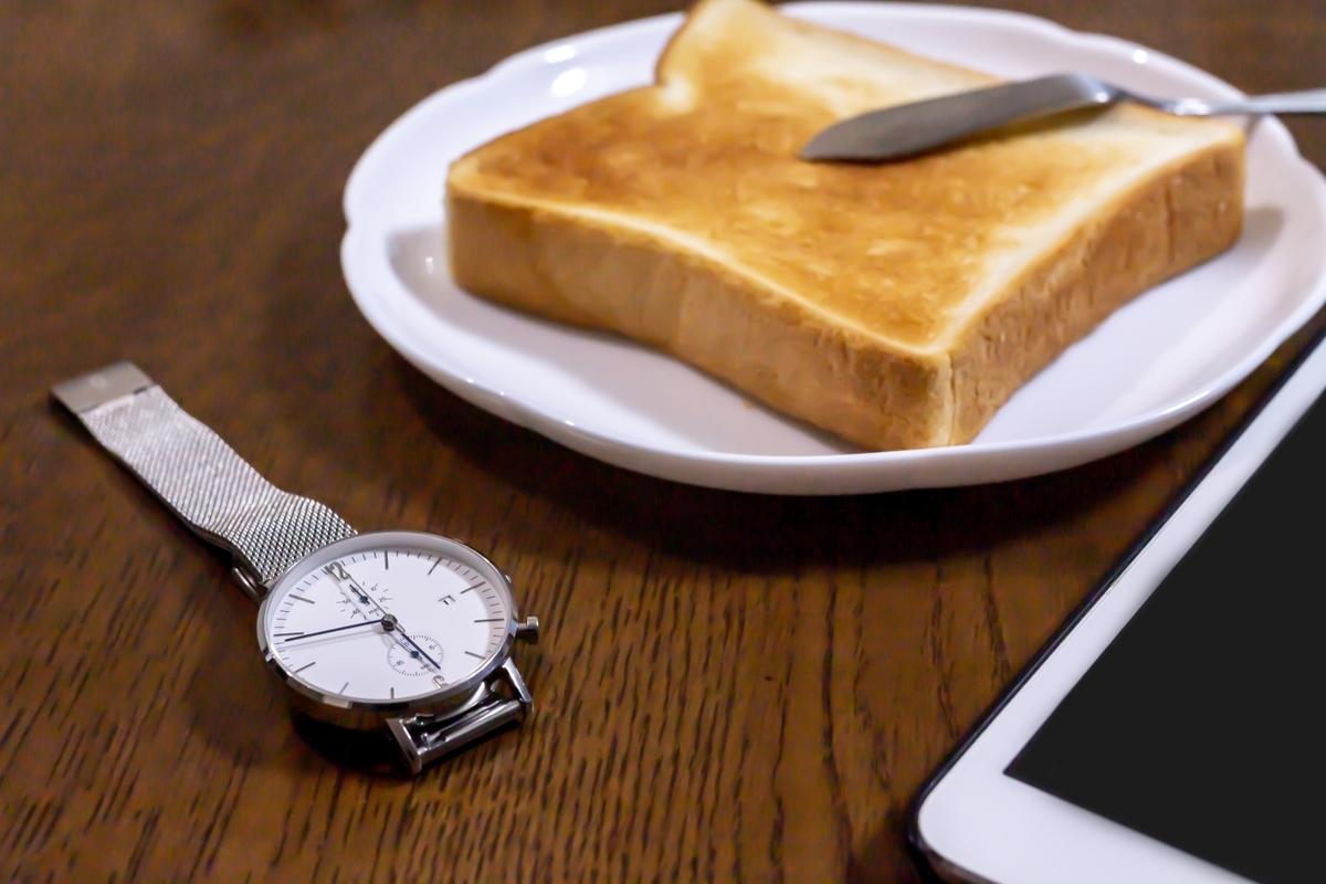トーストの食事:Soseki21ブログ