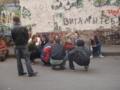 ソ連バンド「kino」のボーカルを偲ぶ人たち