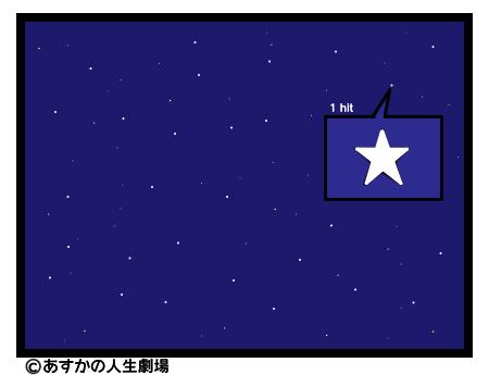 画像:星を見つける