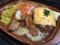 [ローソン][よくばりパスタセット][バジルトマト][&][チーズハンバーグ][税込み550円][772kcal]