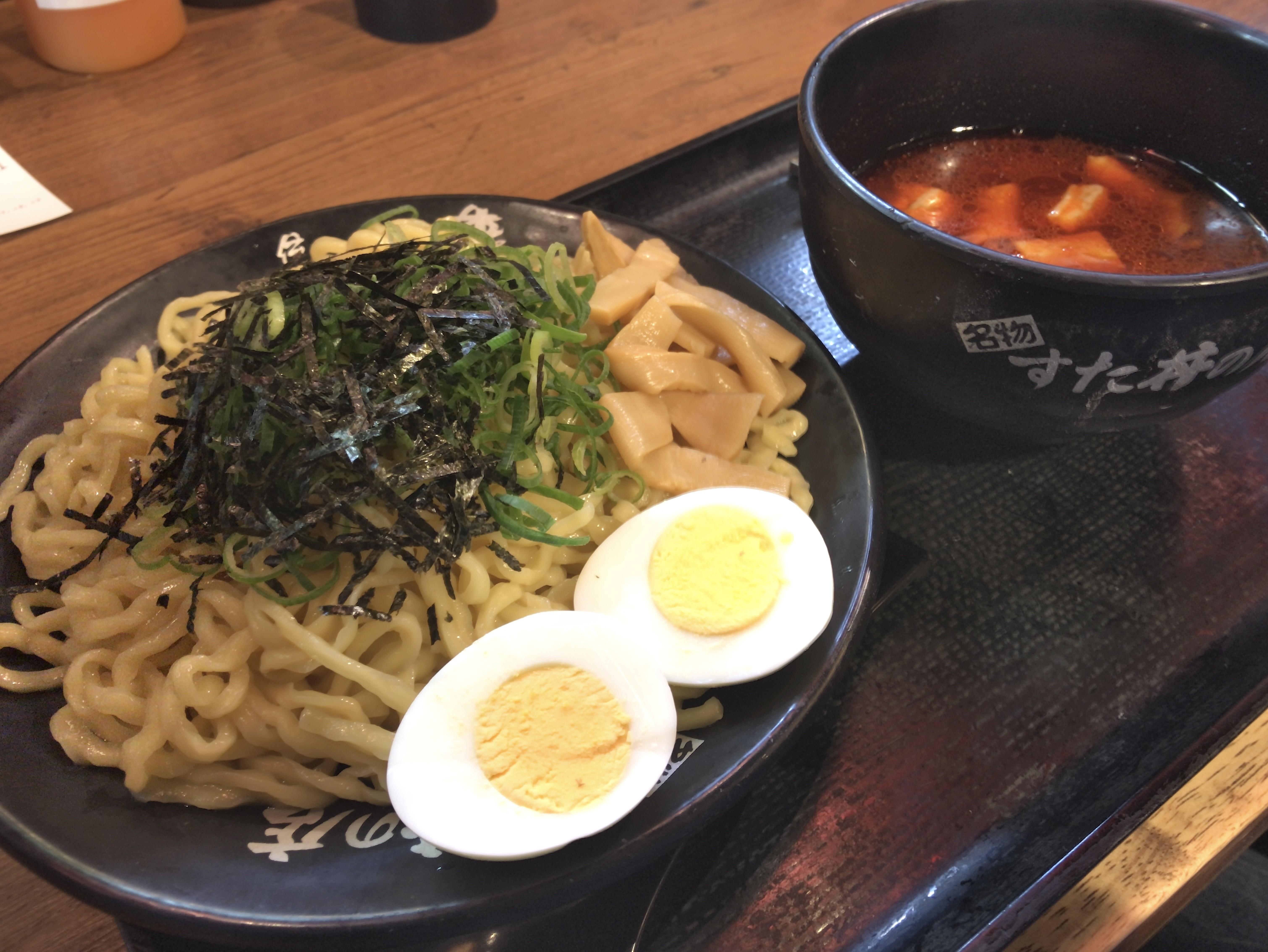 [すた丼屋][辛すた麺][税込み700円]