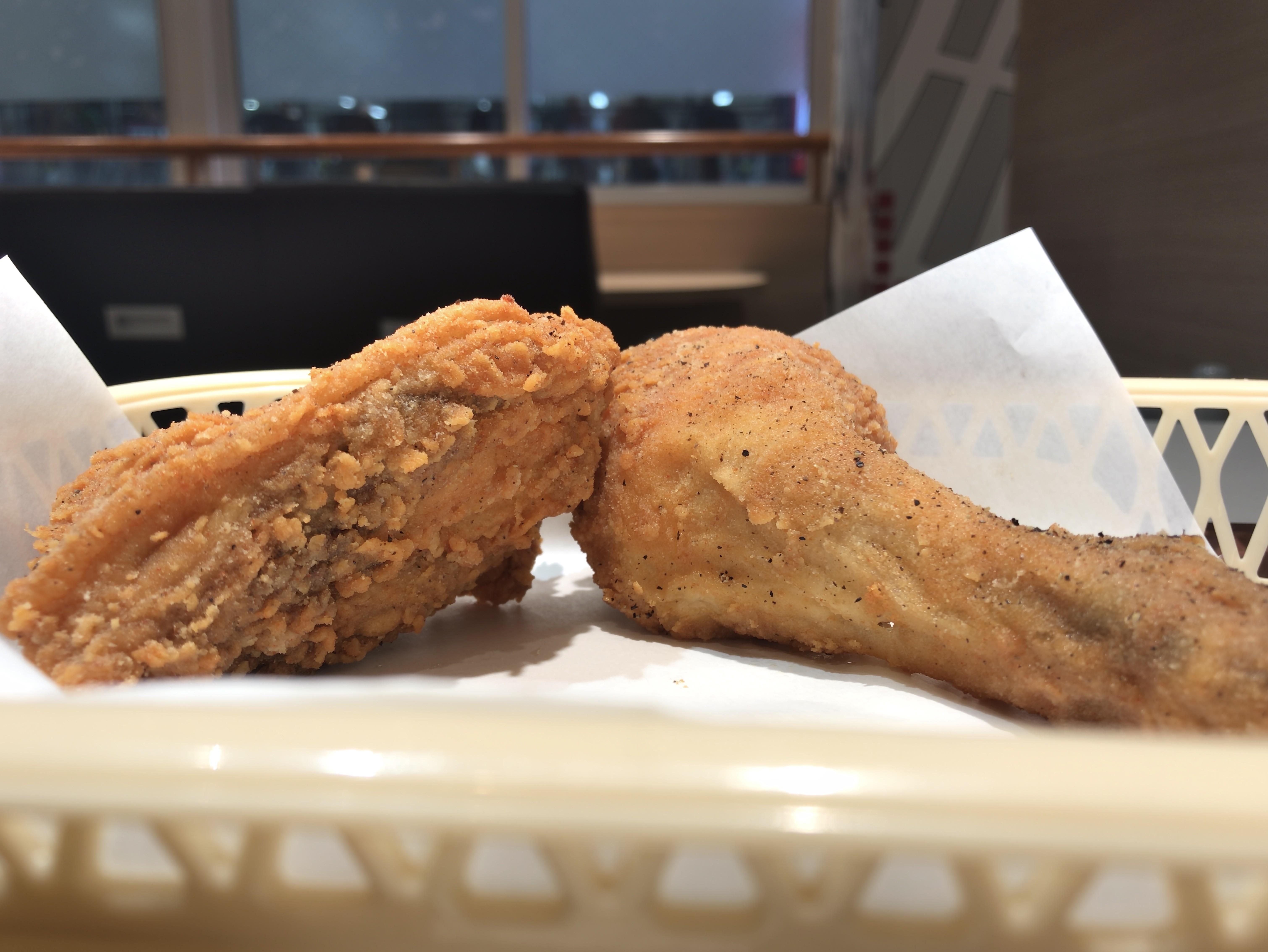 [KFC][あら挽き黒胡椒チキン][税込み270円][231kcal]