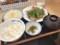 [松屋][ネギだく][塩ダレ豚カルビW定食][とろろ選択][税込み950円][1234kcal]