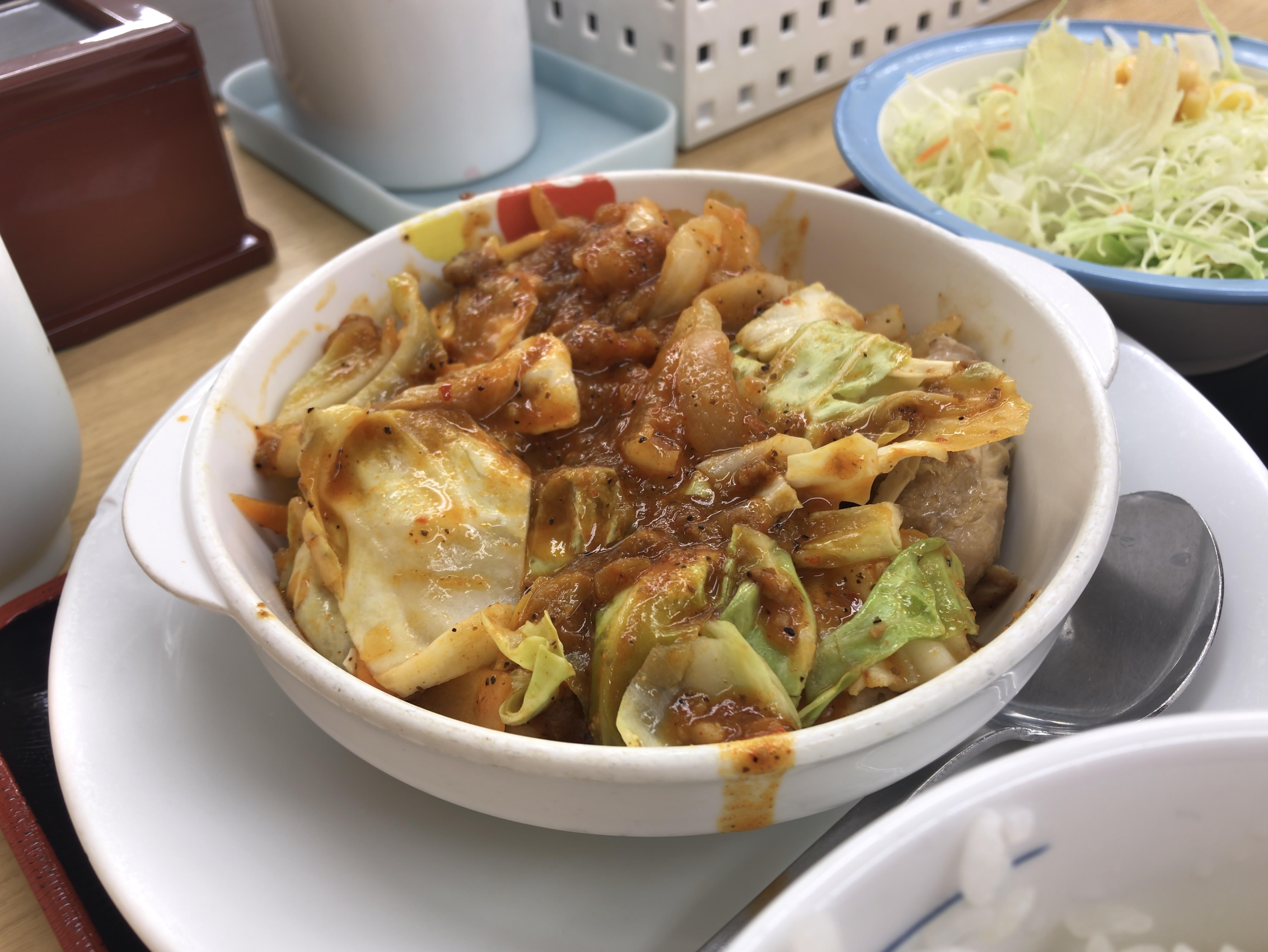 [松屋][ケイジャンチキン定食][税込み650円][905kcal]