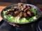 [すた丼屋][<極>牛ハラミ][ROCKステーキ丼][980円][肉増し150円][(税込)]