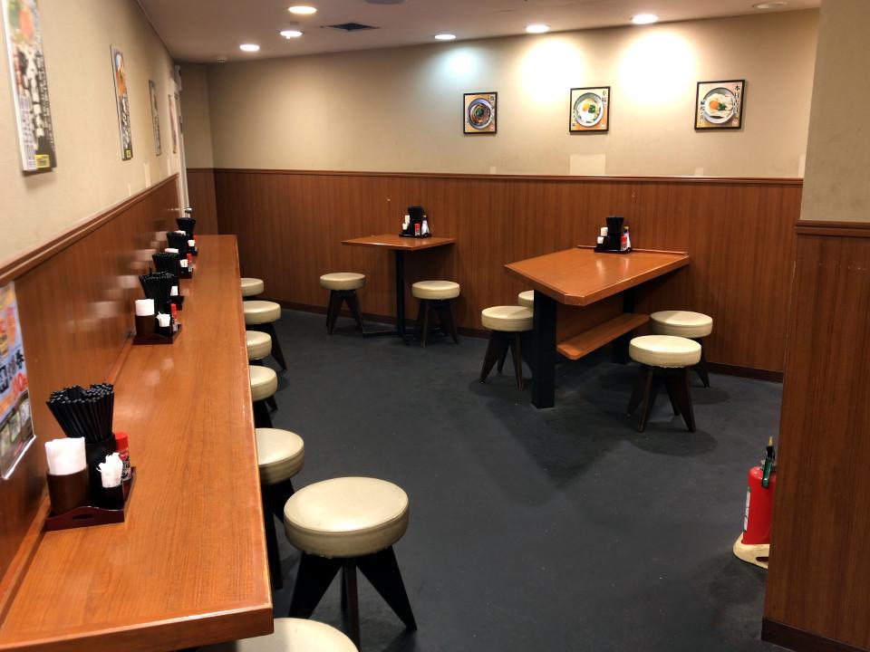 楽釜製麺所 三軒茶屋店 2階