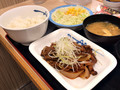 [松屋]松屋 牛焼肉の旨辛炒め定食 税込み630円 849kcal