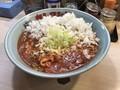 [カレタン]カレタン 三軒茶屋店 トマトカレータンタン麺 700円 キャベツ 100円 玉ね