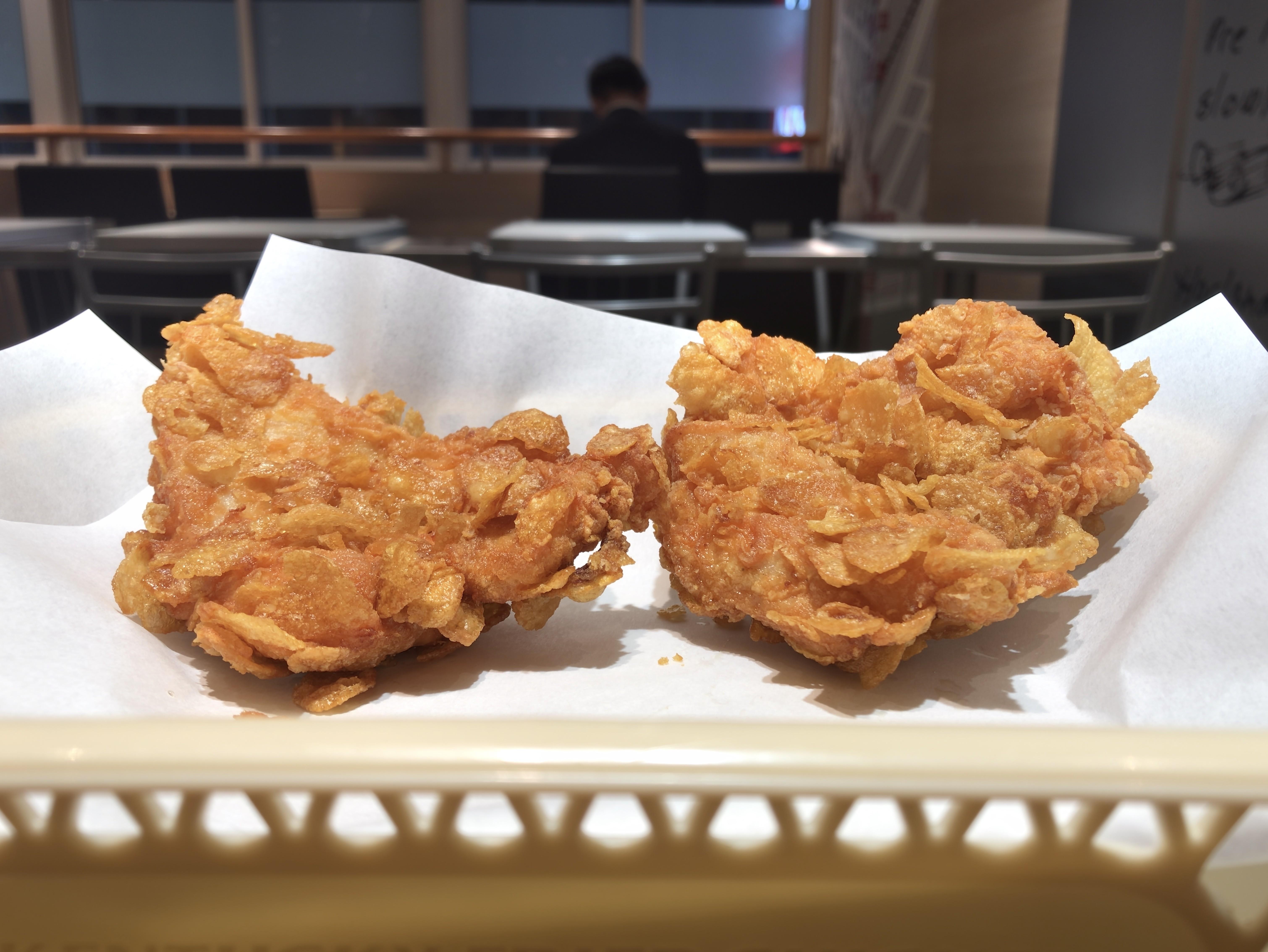 KFC ザクザク骨なしケンタッキー スパイシーメキシカン味 1個税込み270