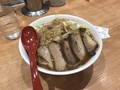 [つけめん哲][つけめんTETSU]つけめん哲 豚煮干し 900円 肉増し 300円 (税込)