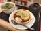 松屋 チーズうまトマハンバーグ単品 550円 608kcal ネギたっぷりネギ塩豚