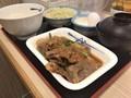 [松屋]松屋 プルコギ定食 生玉子 税込み730円 1050kcal
