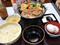 すき家 牛すき鍋定食 肉2倍盛 980円 1591kcal 3種のチーズ 150円 178kcal (税