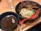 つけめん哲 つけめん牛 980円 大判牛肉増し 380円 (税込)