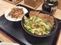 [かつや]かつや 生姜焼きとん汁定食 税込み918円